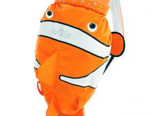 Trunki Paddlepak clownfish-chuckles αδιαβροχο παιδικο σακιδιο