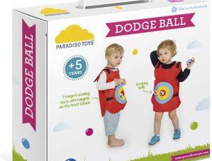 Paradiso Toys Παιχνίδι Στόχου Dodge Ball,Στόχος με Velcro Μπαλάκια