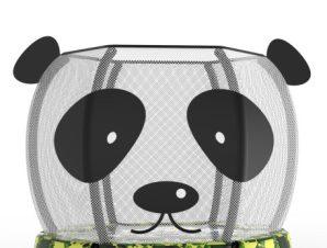 Trampolino.gr Τραμπολίνο 1,4m με δίχτυ extra αντοχής Panda